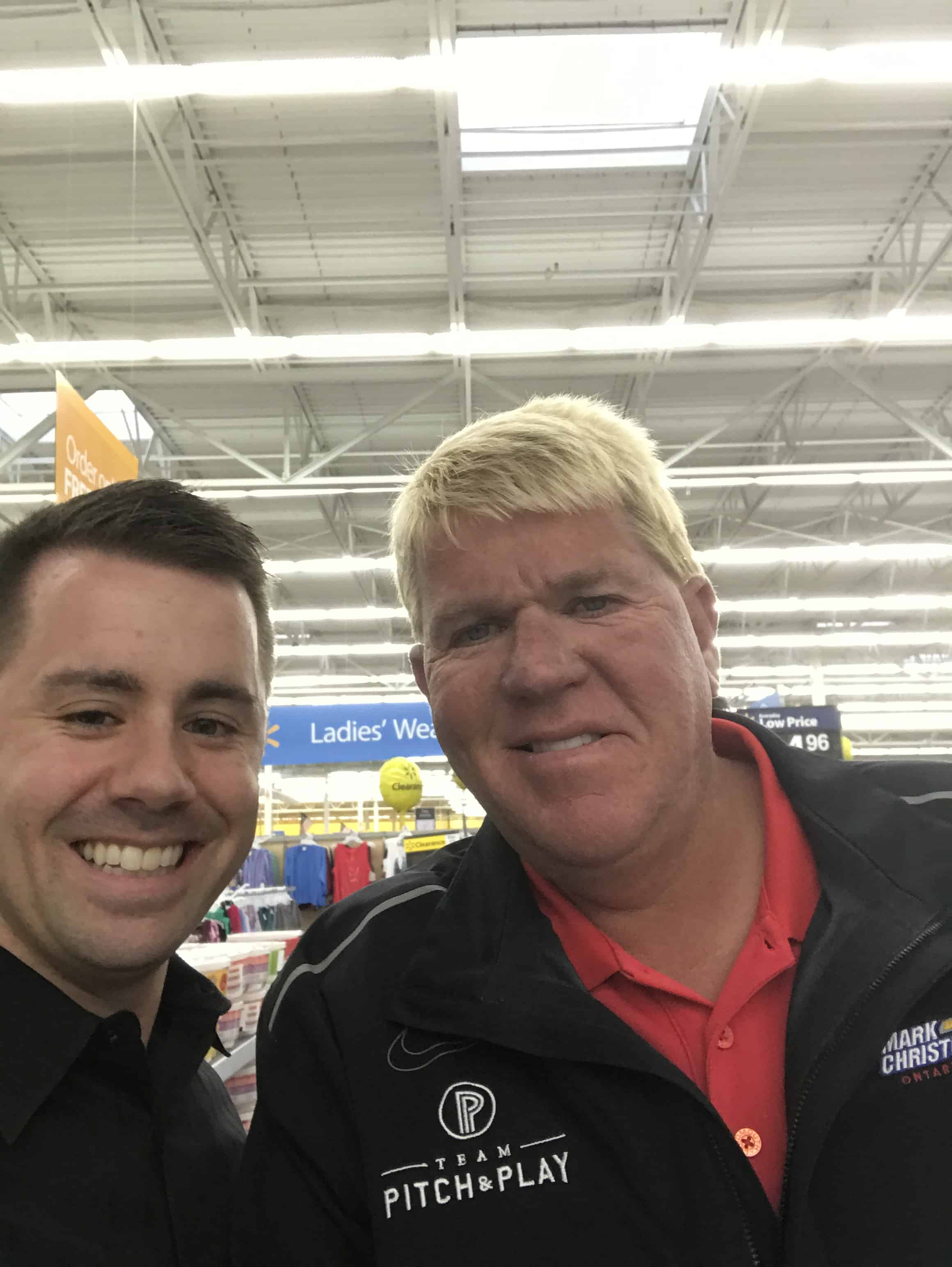 John Daly loves Walmart