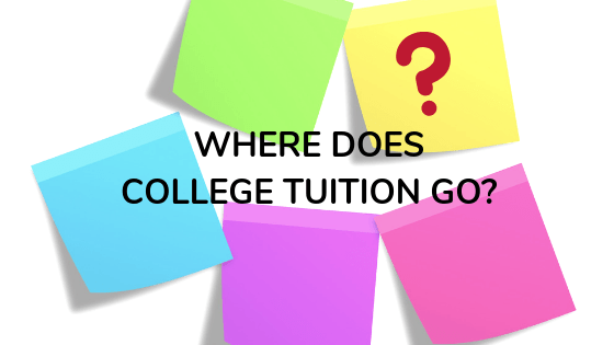 where does college tuition go?