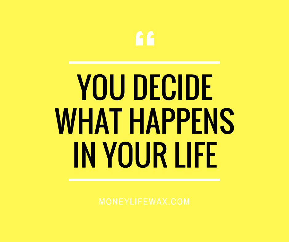 You Decide Money Life Wax Blog