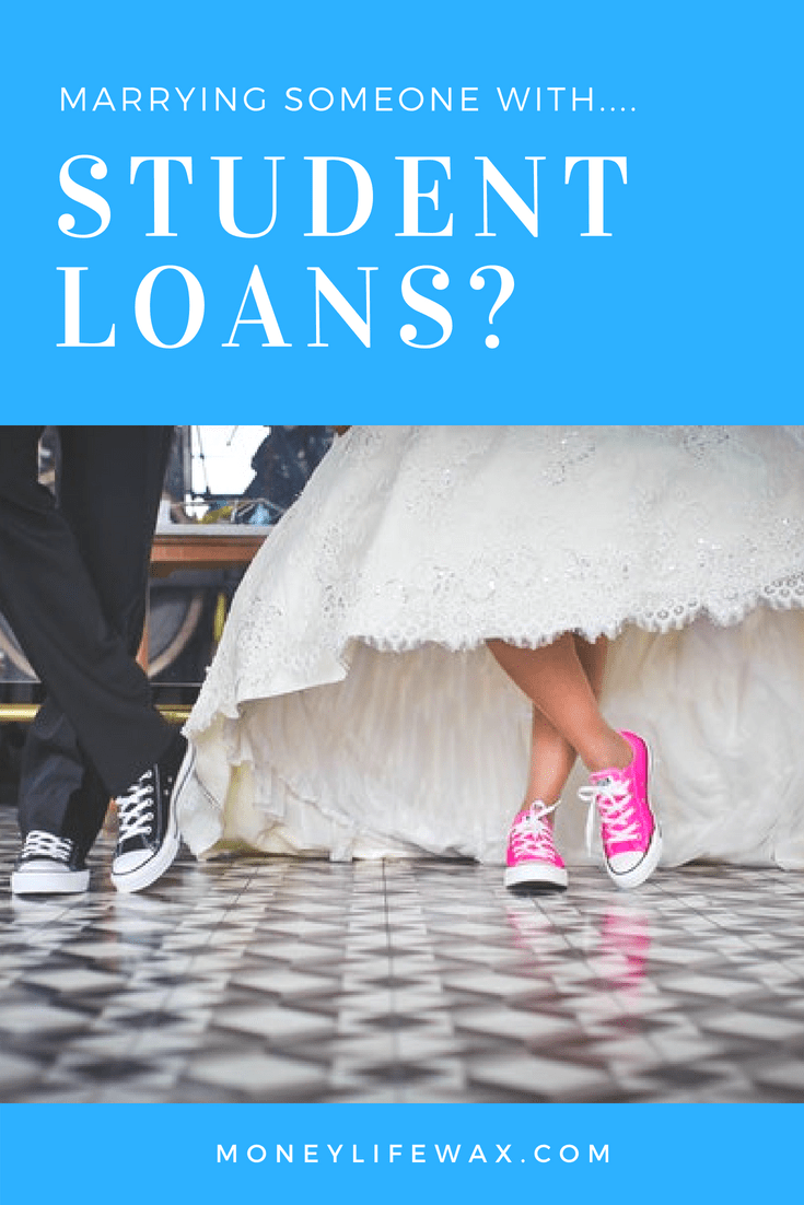 Pin me! Marrying someone with student loans