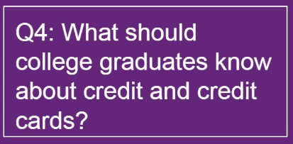 credit cards and college graduates
