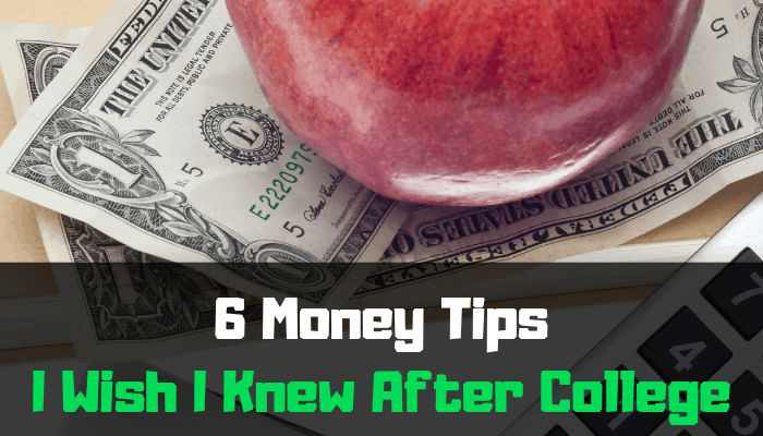 money tips after college