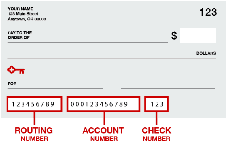 keybank routing number by state