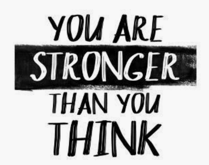 you are stronger than you think savings quote